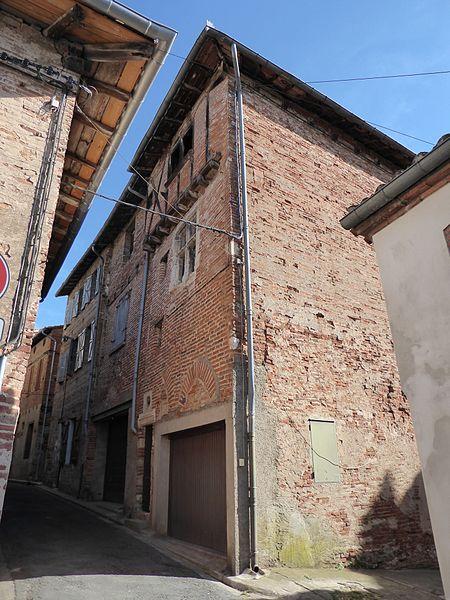 Photo du Monument Historique Maison situé à Gaillac