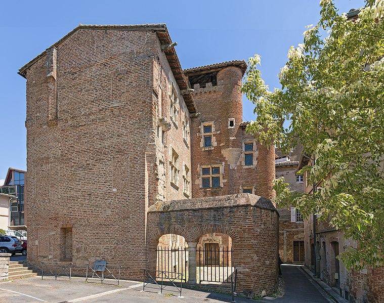 Photo du Monument Historique Maison dite Pierre de Biens situé à Gaillac