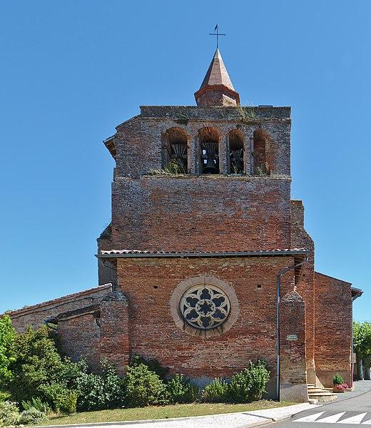 Photo du Monument Historique Eglise paroissiale Saint-Salvy situé à Giroussens