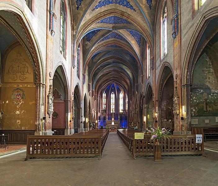 Photo du Monument Historique Eglise Saint-François, ancienne église du couvent des Cordeliers situé à Lavaur