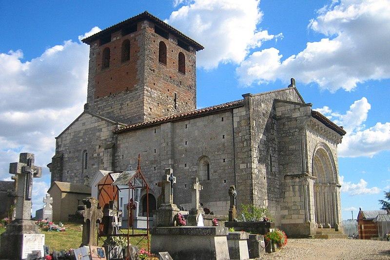 Photo du Monument Historique Eglise Saint-Michel situé à Lescure-d'Albigeois