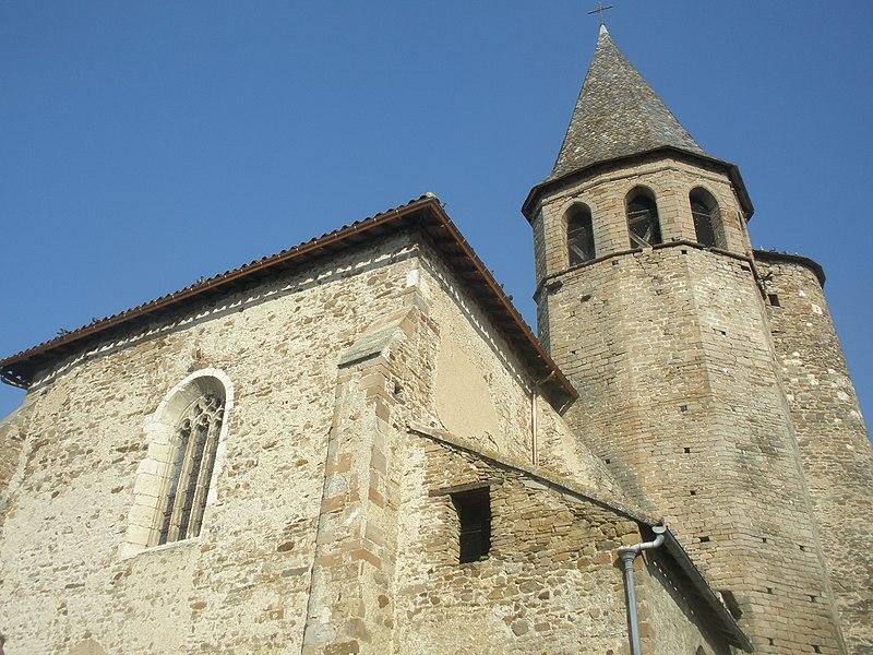 Photo du Monument Historique Eglise Saint-Pierre situé à Monestiés