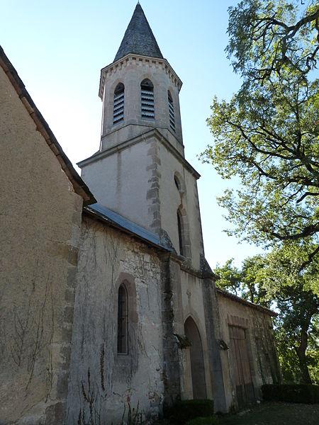 Photo du Monument Historique Eglise Saint-Hippolyte situé à Monestiés