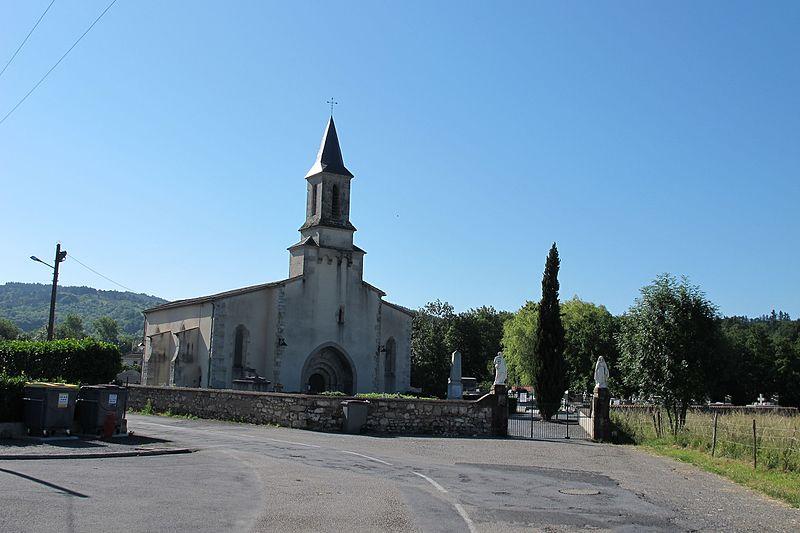 Photo du Monument Historique Eglise Notre-Dame situé à Noailhac