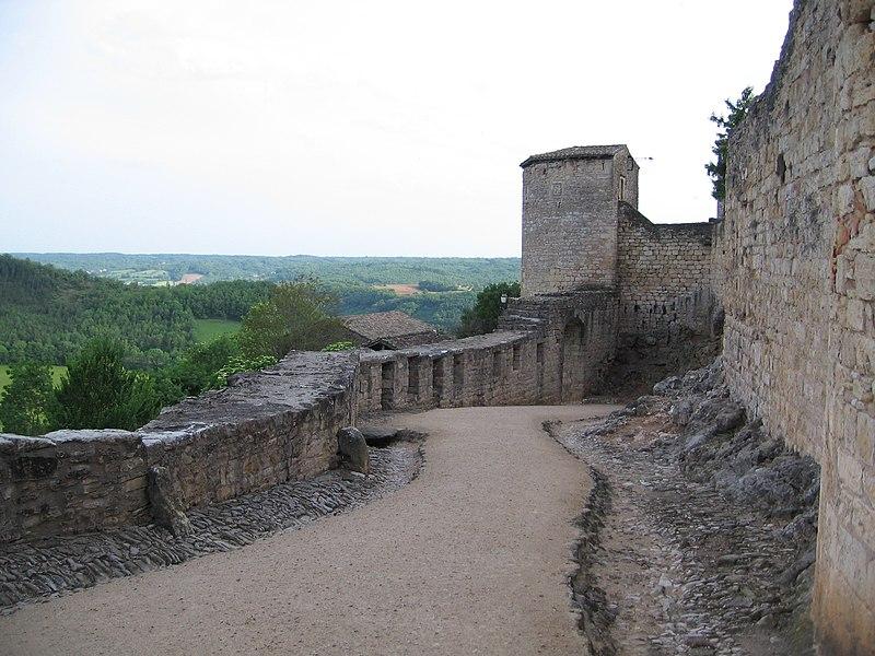 Photo du Monument Historique Deuxième porte de l'Irissou et ses deux tours d'enceinte situé à Puycelci