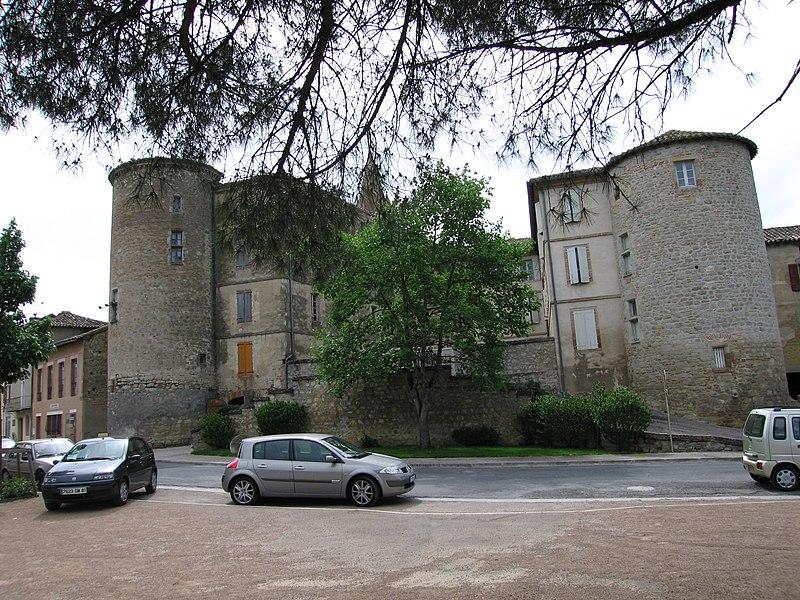Photo du Monument Historique Ancien château situé à Salvagnac