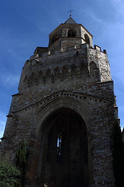 Photo du Monument Historique Ancienne église Saint-Martin situé à Sorèze