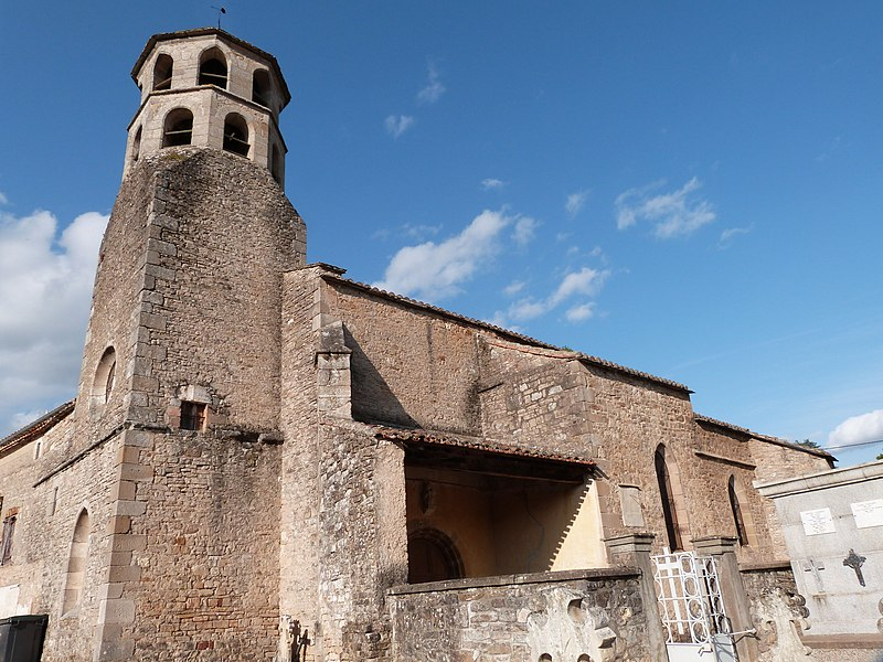 Photo du Monument Historique Eglise Saint-Martin situé à Vindrac-Alayrac