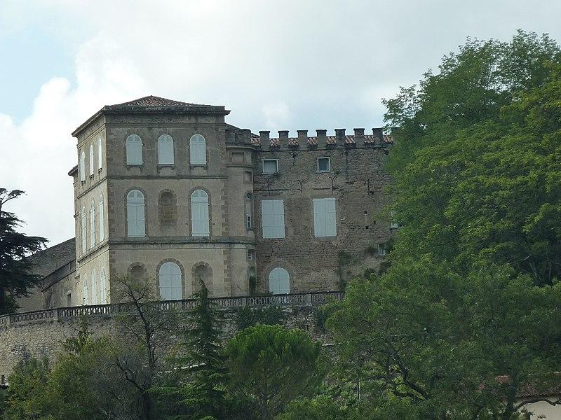 Photo du Monument Historique Château situé à Viviers-lès-Montagnes