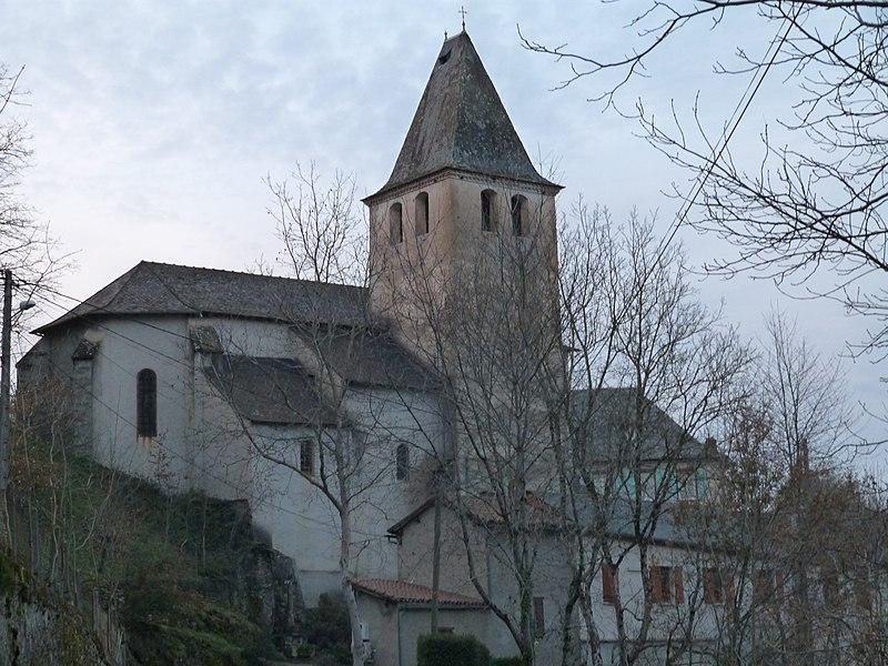 Photo du Monument Historique Eglise Saint-Jacques situé à Montirat