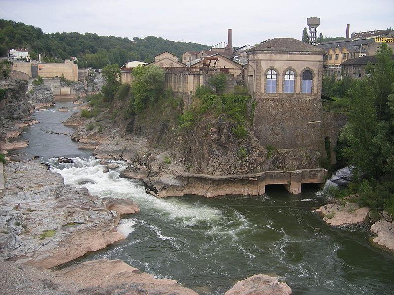 Photo du Monument Historique Centrale hydroélectrique numéro 1 du Saut du Tarn situé à Saint-Juéry