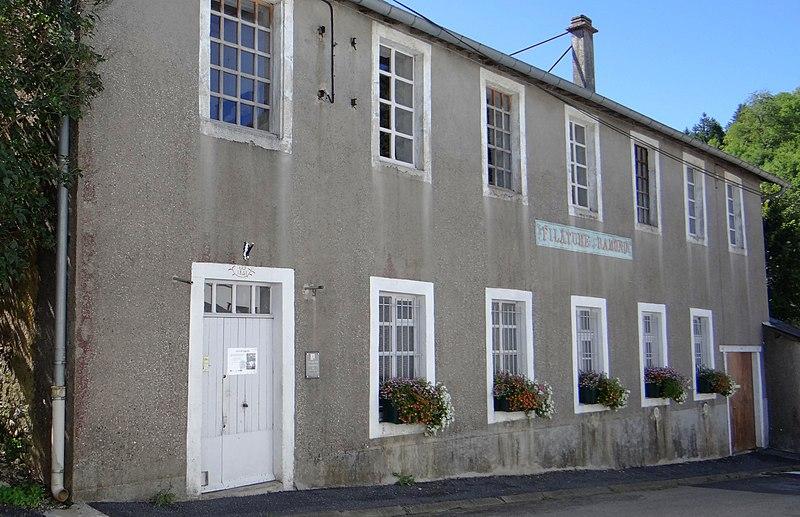 Photo du Monument Historique Filature Ramond situé à Lacaune