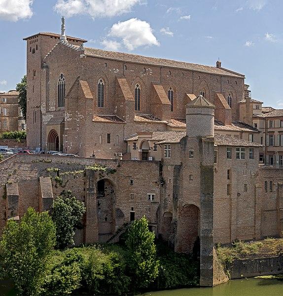 Photo du Monument Historique Abbaye Saint-Michel situé à Gaillac