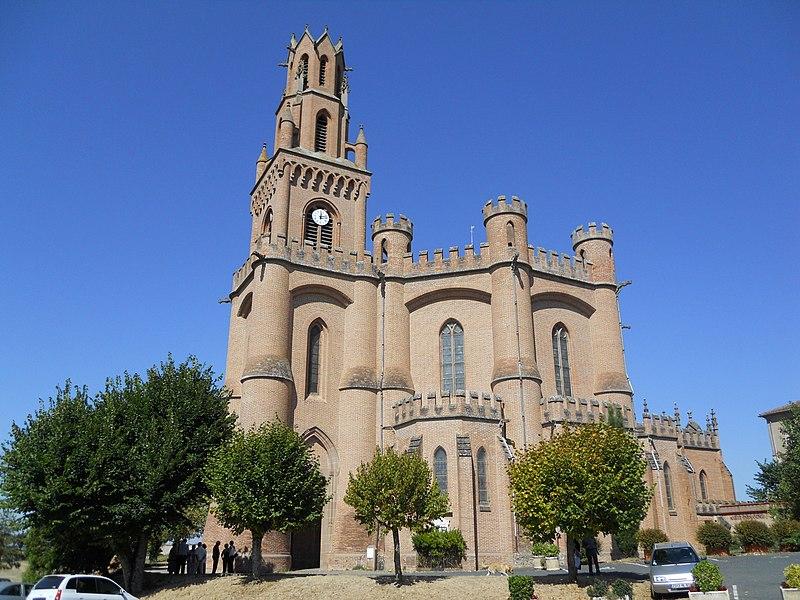 Photo du Monument Historique Eglise Notre-Dame-de-la-Drèche situé à Lescure-d'Albigeois
