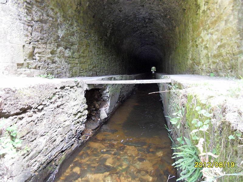 Photo du Monument Historique Canal du Midi : tunnel des Cammazes situé à Les Cammazes