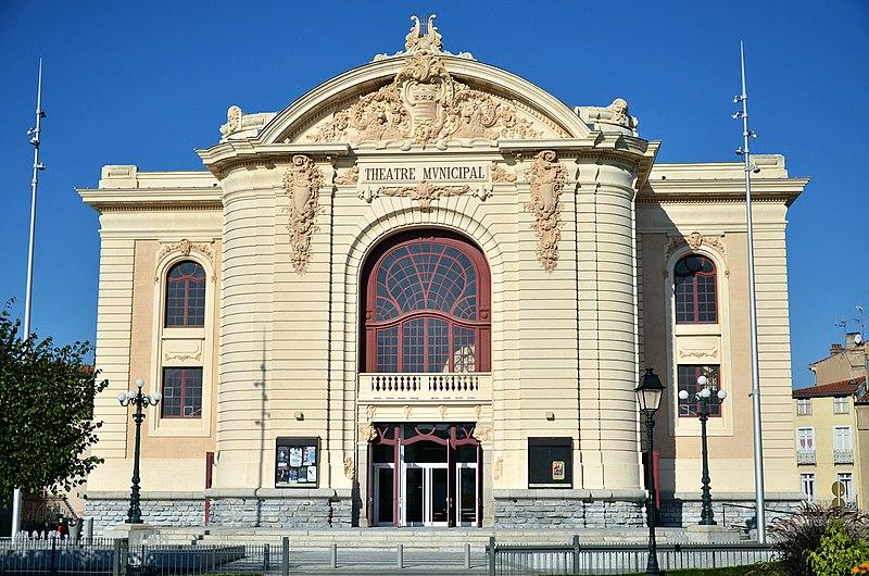 Photo du Monument Historique Théâtre municipal situé à Castres