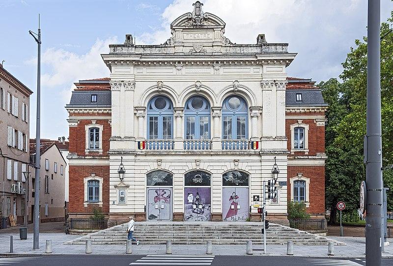 Photo du Monument Historique Théâtre situé à Albi