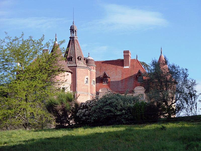 Photo du Monument Historique Château de la Serre situé à Cambounet-sur-le-Sor