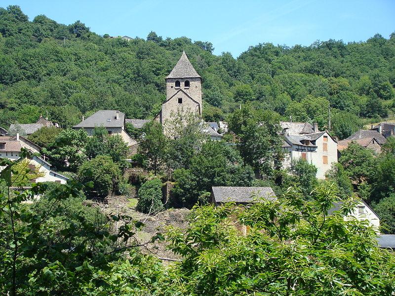 Photo du Monument Historique Eglise Saint-Thomas de Canterbery, de Lagarde-Viaur situé à Montirat