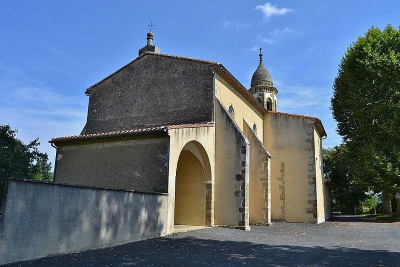 Photo du Monument Historique Eglise paroissiale Saint-Pierre situé à Peyregoux