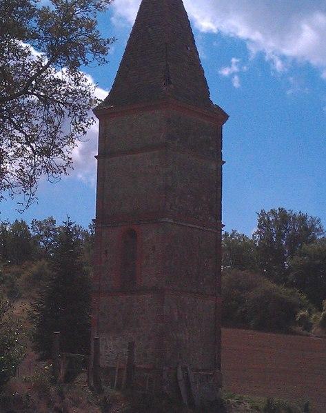 Photo du Monument Historique Pigeonnier de Montplaisir situé à Ambres