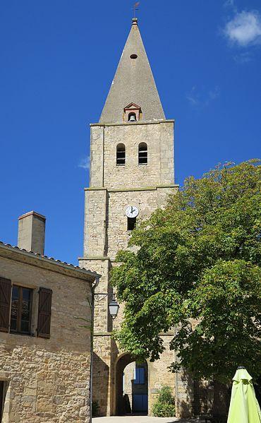 Photo du Monument Historique Église Saint-Corneille situé à Puycelsi