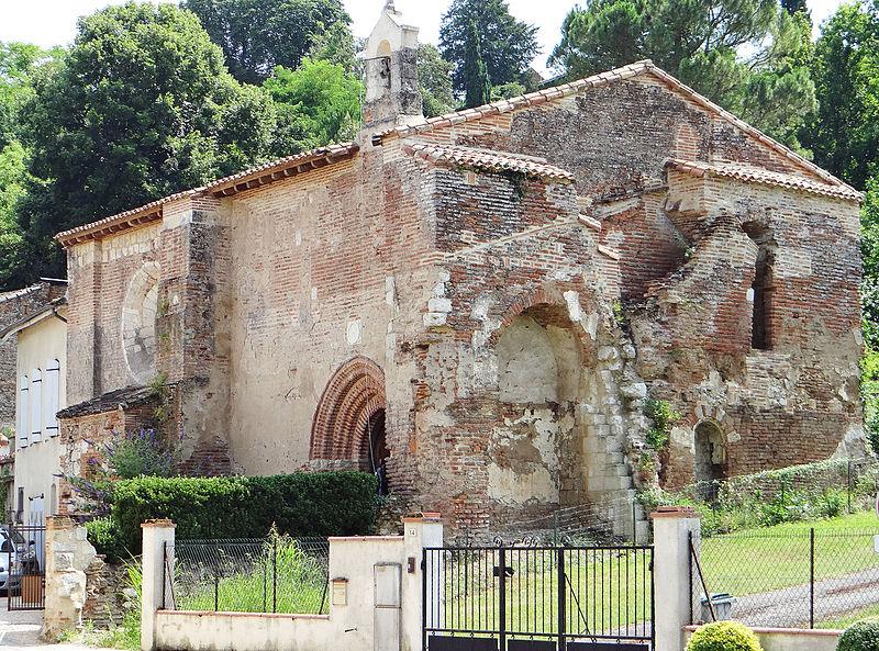 Photo du Monument Historique Eglise du Port situé à Auvillar