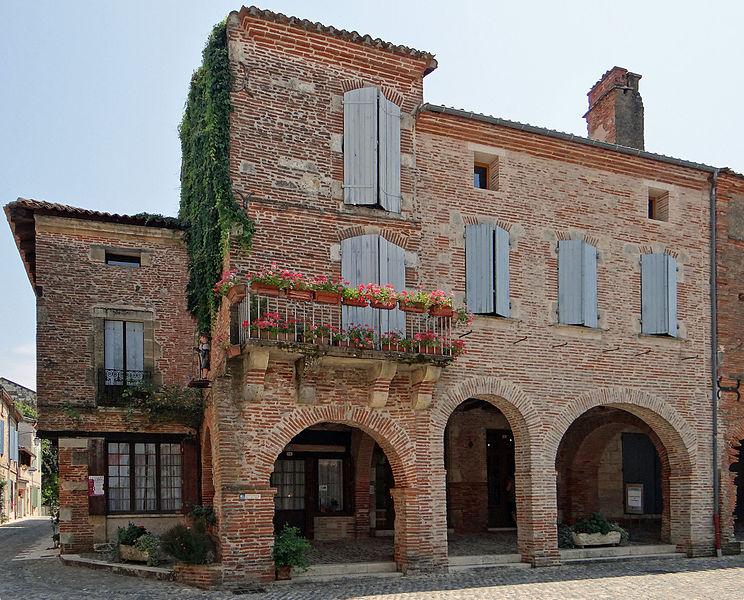 Photo du Monument Historique Immeuble situé à Auvillar