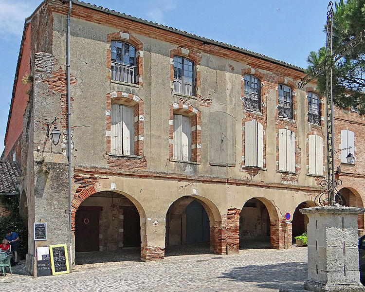 Photo du Monument Historique Immeubles situé à Auvillar