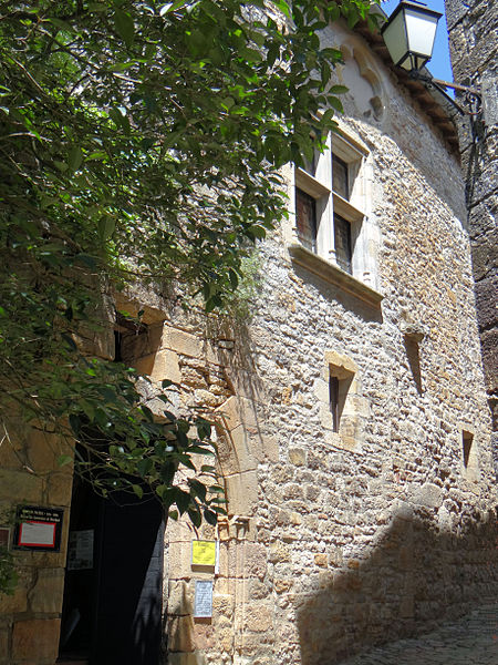 Photo du Monument Historique Ancienne maison dite des Comtes de Fayrols situé à Bruniquel