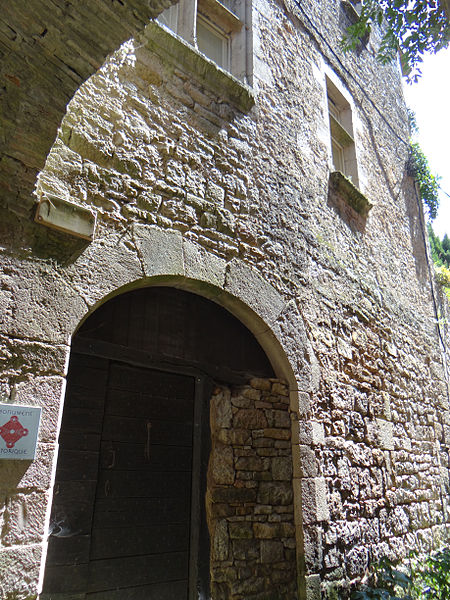 Photo du Monument Historique Maison dite Le Parlement situé à Bruniquel