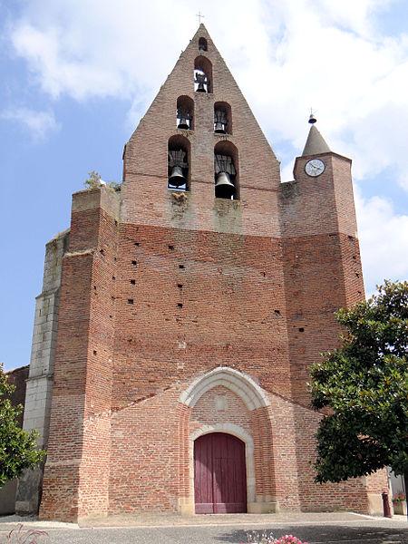 Photo du Monument Historique Eglise Saint-Maffre situé à Castelmayran