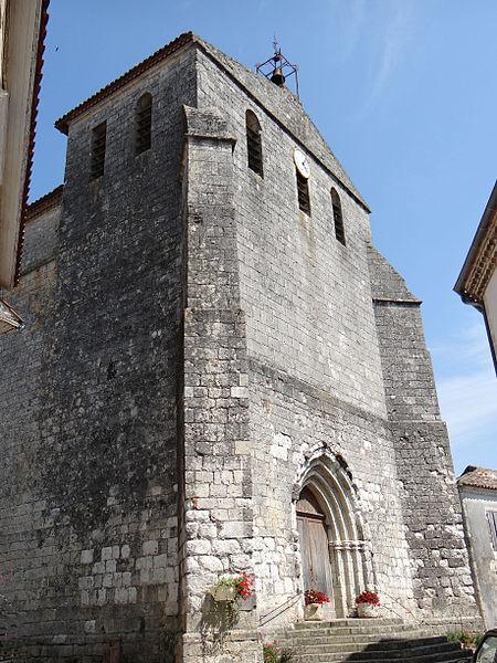 Photo du Monument Historique Eglise de l'Assomption situé à Castelsagrat