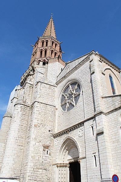 Photo du Monument Historique Eglise Notre-Dame de l'Assomption situé à Caussade
