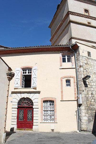 Photo du Monument Historique Maison situé à Caussade