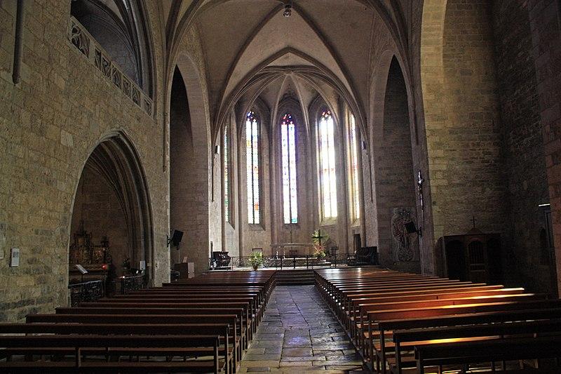 Photo du Monument Historique Eglise Saint-Jean-Baptiste situé à Caylus