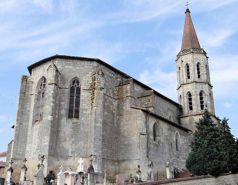 Photo du Monument Historique Eglise Sainte-Madeleine situé à Dunes