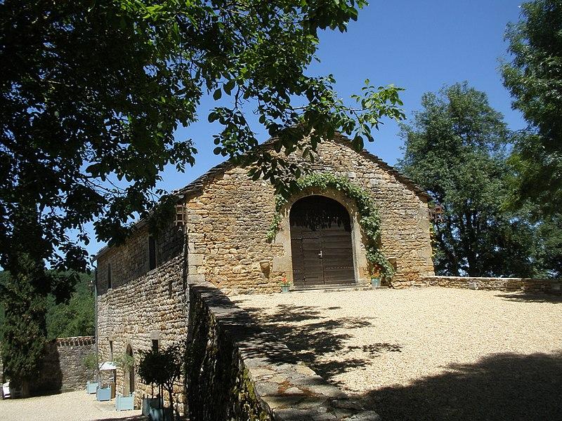 Photo du Monument Historique Grange de Cas situé à Espinas