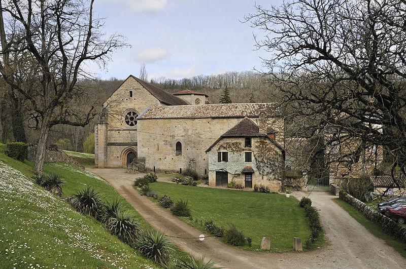 Photo du Monument Historique Ancienne abbaye de Beaulieu situé à Ginals