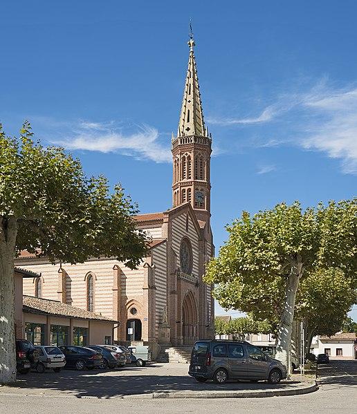 Photo du Monument Historique Eglise Saint-Martin situé à Grisolles