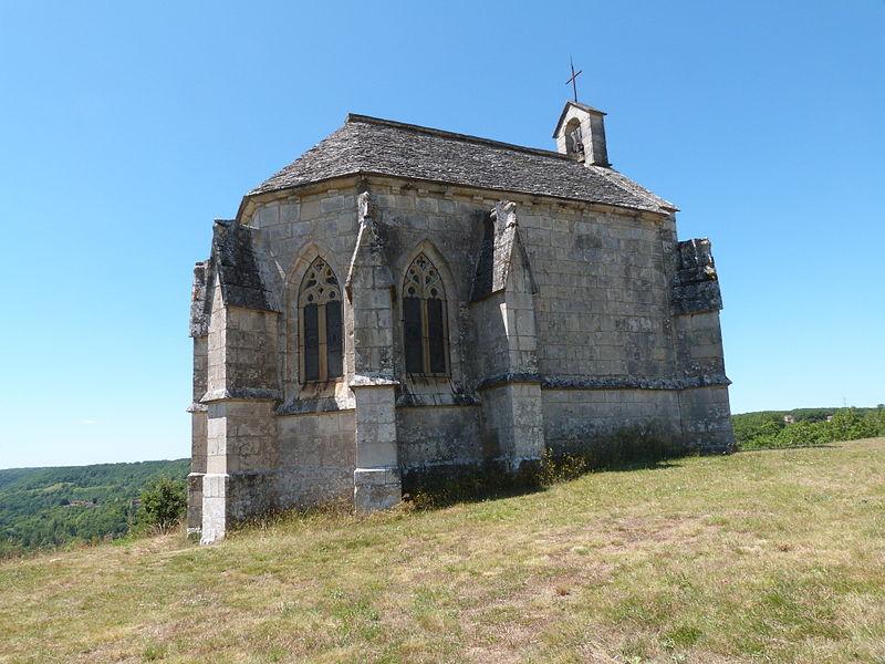 Photo du Monument Historique Chapelle Notre-Dame-des-Grâces situé à Lacapelle-Livron