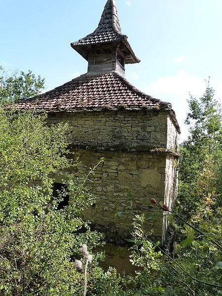 Photo du Monument Historique Pigeonnier des Templiers situé à Lacapelle-Livron