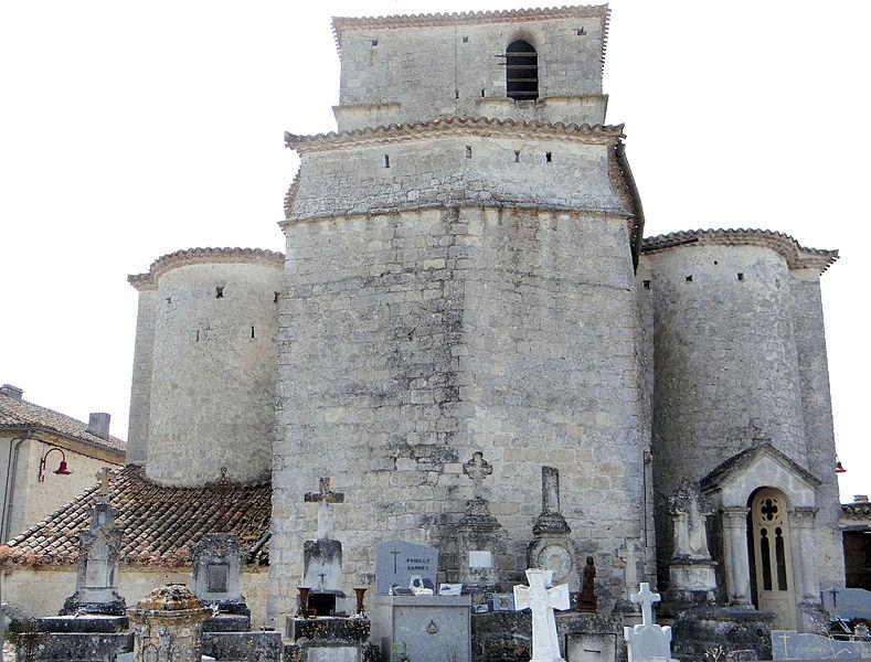 Photo du Monument Historique Eglise Notre-Dame situé à Lacour