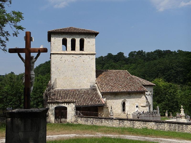 Photo du Monument Historique Ancienne église de Saint-Etienne de Castanède situé à Lacour