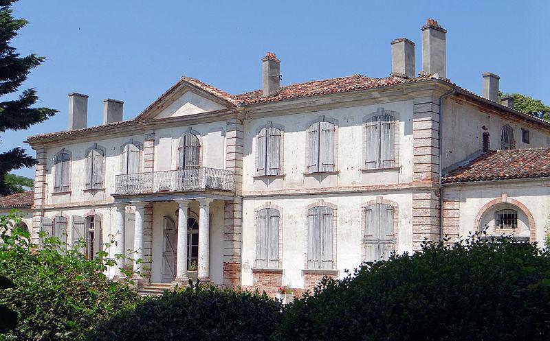 Photo du Monument Historique Château d'Ardus situé à Lamothe-Capdeville