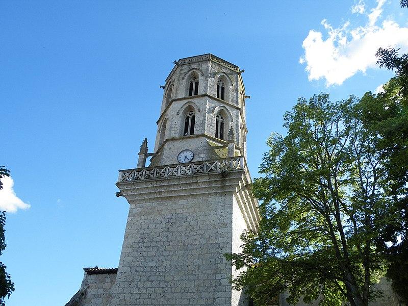 Photo du Monument Historique Eglise Sainte-Madeleine situé à Larrazet
