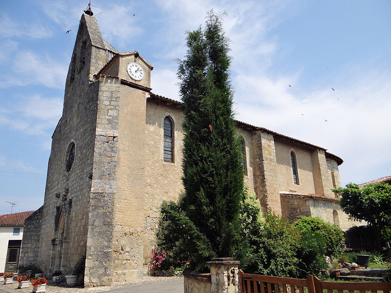 Photo du Monument Historique Eglise Saint-Saturnin situé à Mansonville