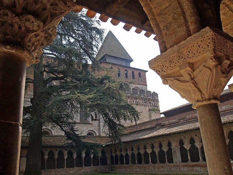 Photo du Monument Historique Ancienne abbaye de Moissac situé à Moissac