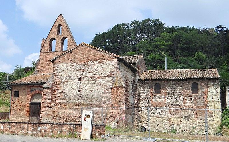 Photo du Monument Historique Eglise Saint-Martin situé à Moissac