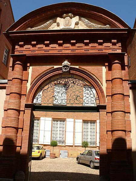 Photo du Monument Historique Hôtel Le Franc de Pompignan situé à Montauban